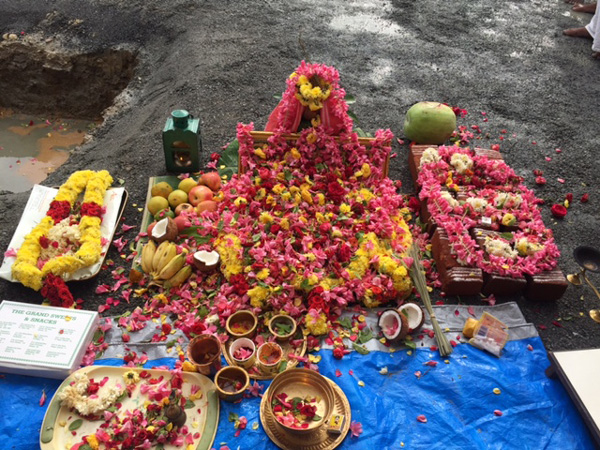 Puja in Progress