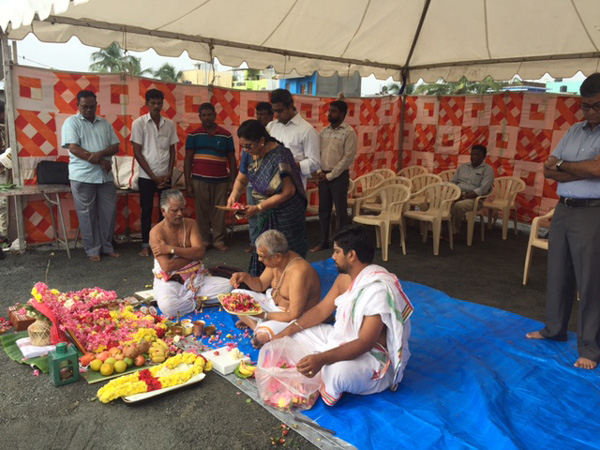 Bhoomi Puja : Phase 2
