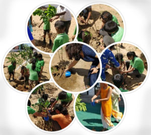 Earth Day 2018 at Injambakkam